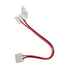 Коннектор для ленты 5050 двухсторонний (ширина 10 мм,длина провода 15 см ) 12В SWG