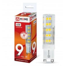 Лампа светодиодная JCD VC 9Вт 230В G9 6500К 810Лм IN HOME