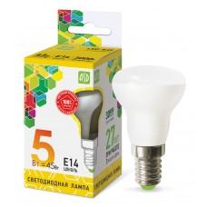 Лампа светодиодная R39 standard 5Вт Е14 3000К 450Лм ASD