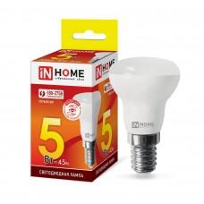 Лампа светодиодная R39-VC 5Вт 3000К 410Лм Е14 IN HOME
