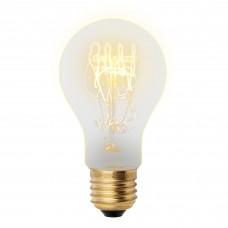 Лампа накаливания A60 60Вт Е27 300Лм Vintage Uniel
