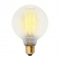 Лампа накаливания G95 60Вт Е27 300Лм Vintage Uniel