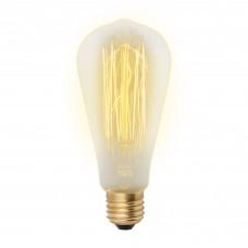 Лампа накаливания ST64 60Вт Е27 300Лм Vintage Uniel