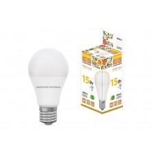 Лампа светодиодная A60 15Вт 4000К 1200Лм Е27 Народная