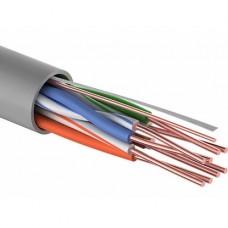 Кабель UTP 4PR 24AWG, CCA, CAT5e, PVC серый PROconnect