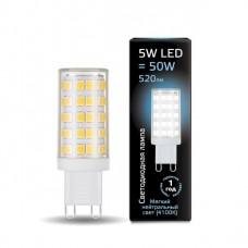 Лампа светодиодная 5Вт 185-265В 4100К 520Лм G9 керамика Gauss