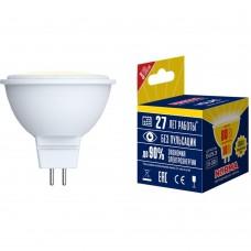 Лампа светодиодная MR16 10Вт 220В 3000K WW 800Лм GU5.3 Volpe