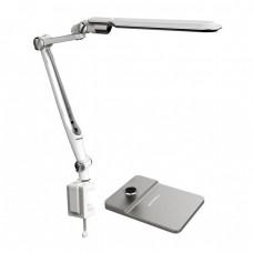 Настольная лампа LED SL-TL317 10вт, подст+струбц, диммир, в ассортименте