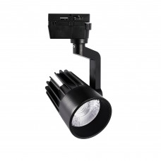 Светильник-прожектор LED трековый ULB-Q274 30W/4000К BLACK. 3000 Лм. ТМ Volpe