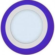 Светильник LED Piatto LED R 12+6 6000K BLUE (195*25мм врезное отверстие 155мм)