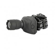 Фонарь налобный LED Ultra Flash-5354 (1Вт, ZOOM, 3хR03 н/к)