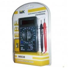 Мультиметр цифровой Universal M838 IEK TMD-2S-838