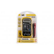 Мультиметр цифровой Master MAS 838 L IEK TMD-3L-838